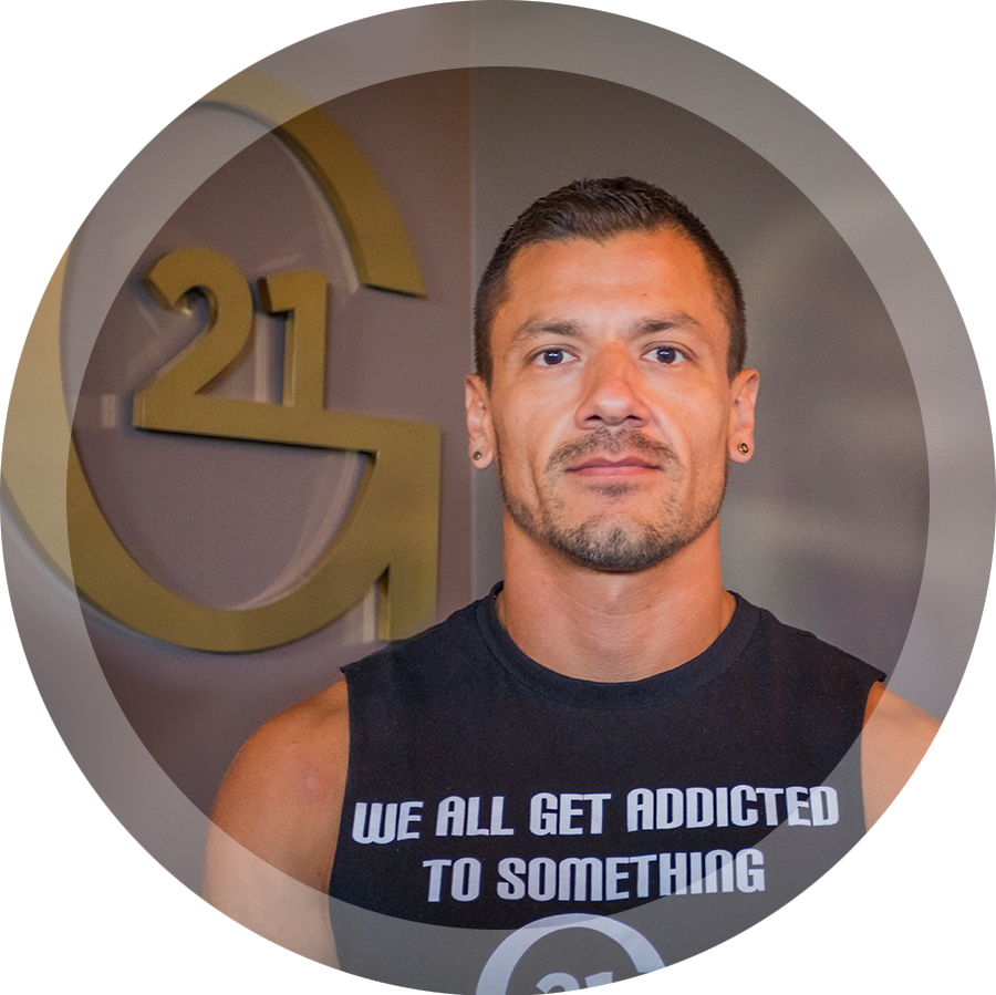 Aleks Ospina - G21 Fitness Personal Trainer